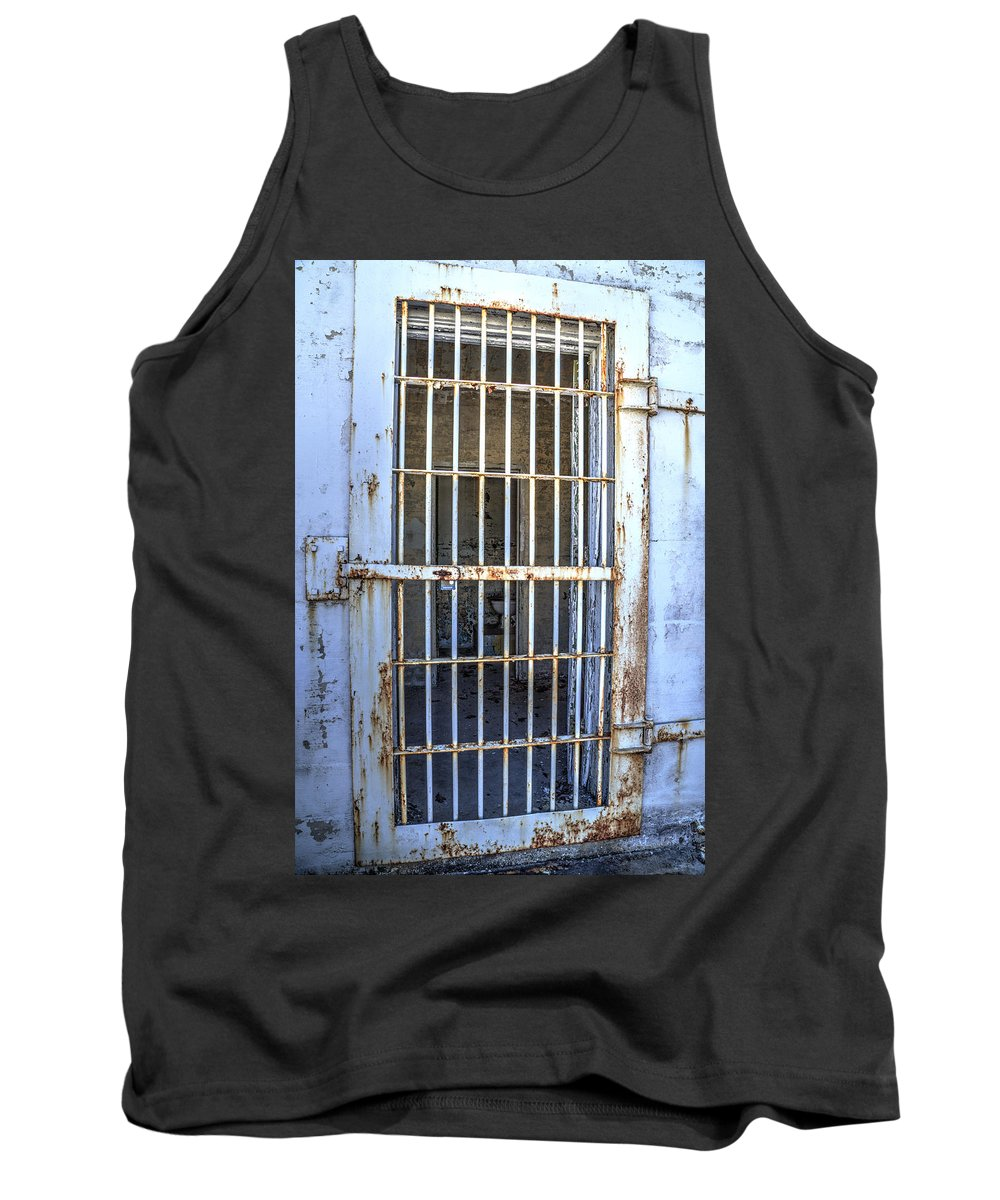 Doors Tank Top featuring the photograph Trustee Entrance by Charles Hite
