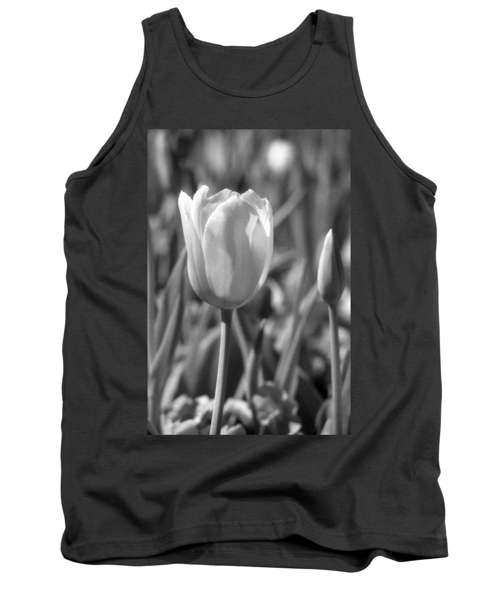 Tulip Tank Top featuring the photograph Tulips - Infrared 27 by Pamela Critchlow