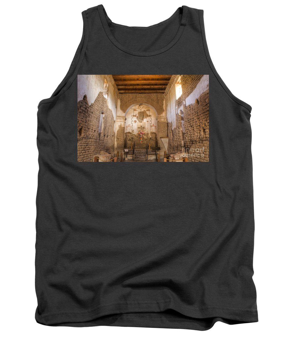 Mission Tank Top featuring the photograph Tumacacori 39 by Larry White