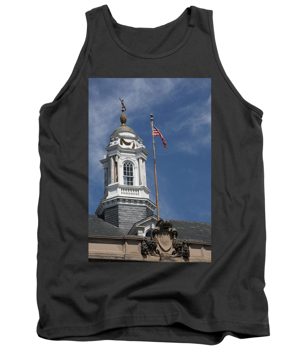 Turret Tank Top featuring the photograph Turret Main Post Office Annapolis by Christiane Schulze Art And Photography