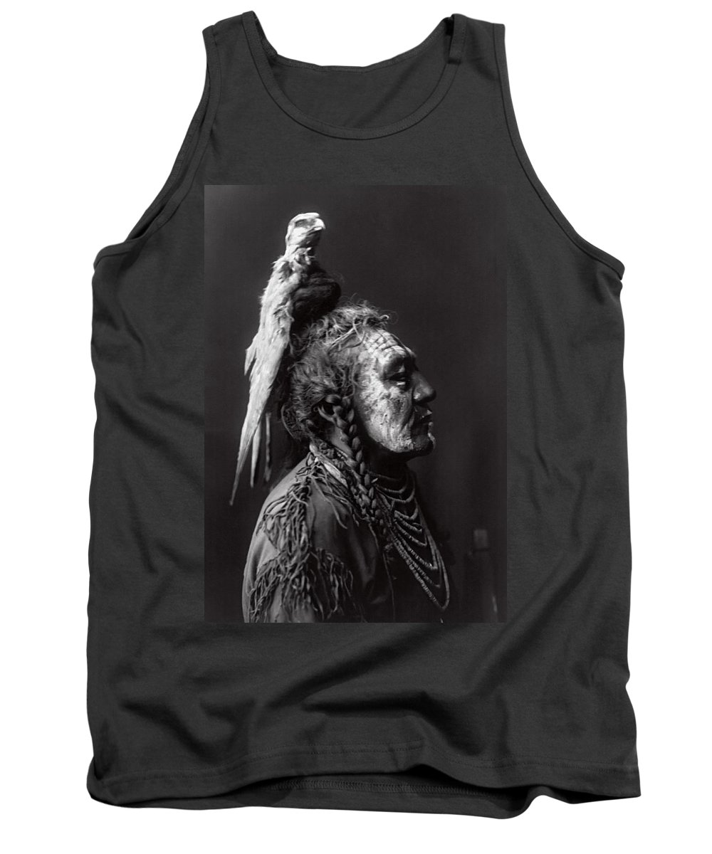 Apsaroke Tank Top featuring the photograph Two Whistles 1908 by Daniel Hagerman