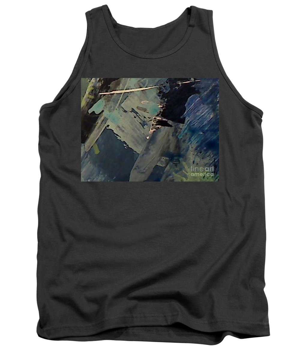 Abstract Tank Top featuring the painting UK by Mark Herman