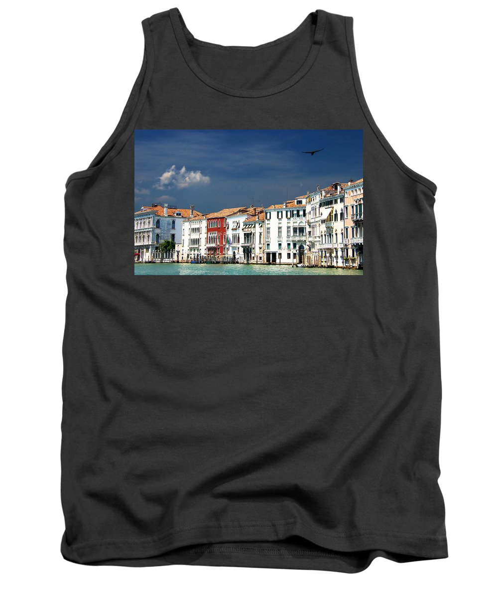Venice Tank Top featuring the photograph Ummm Venice by David Resnikoff