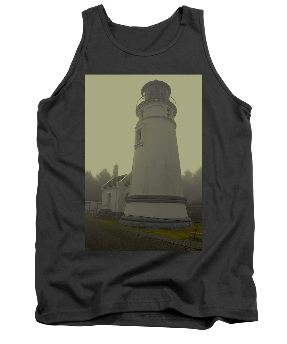 Tank Top featuring the photograph Umpqua Lighthouse 2 by Cathy Anderson