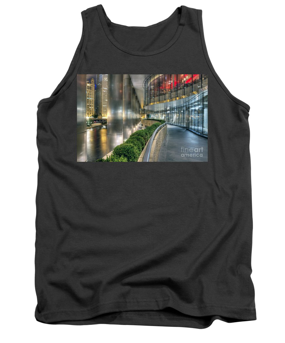 Chicago Tank Top featuring the photograph Under The Trump by Steven K Sembach