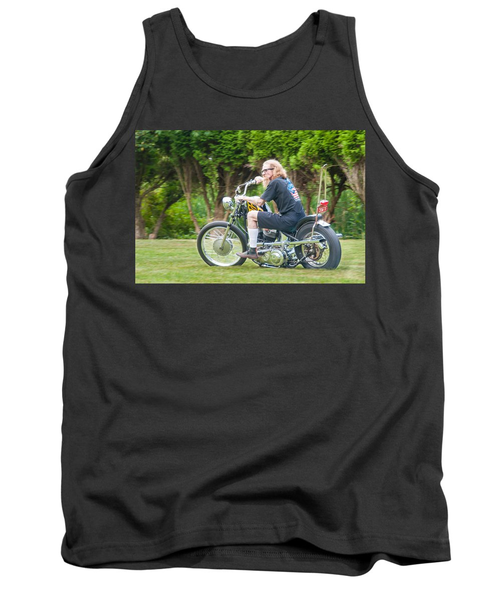 Guy Whiteley Photography Tank Top featuring the photograph Uneasy Rider by Guy Whiteley