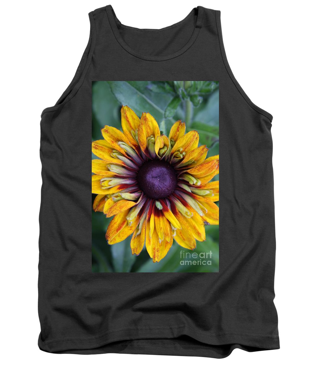 Sunflower Tank Top featuring the photograph Unique Sunflower by Christiane Schulze Art And Photography