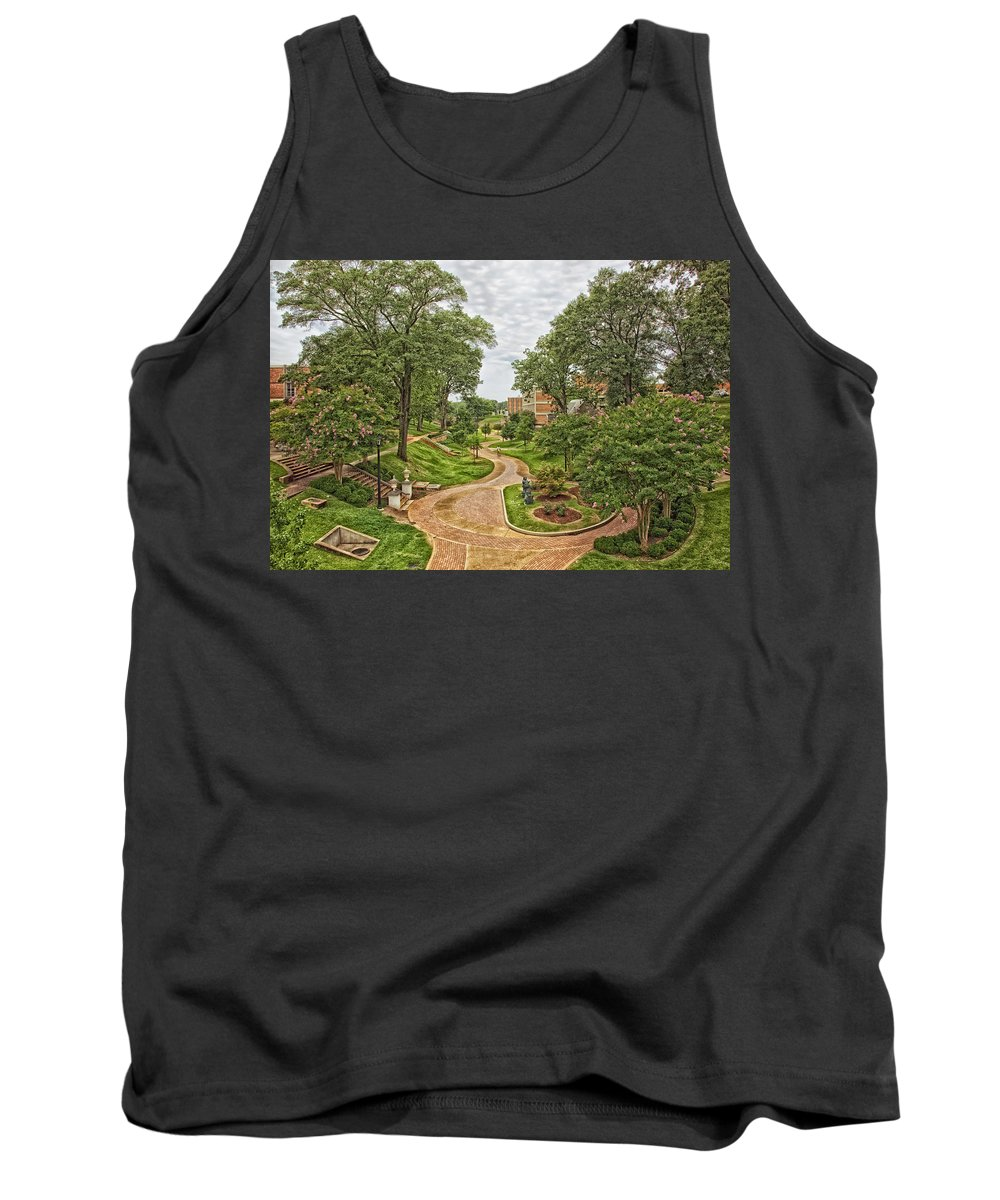 University Of North Alabama Tank Top featuring the photograph University Of North Alabama Campus by Mountain Dreams