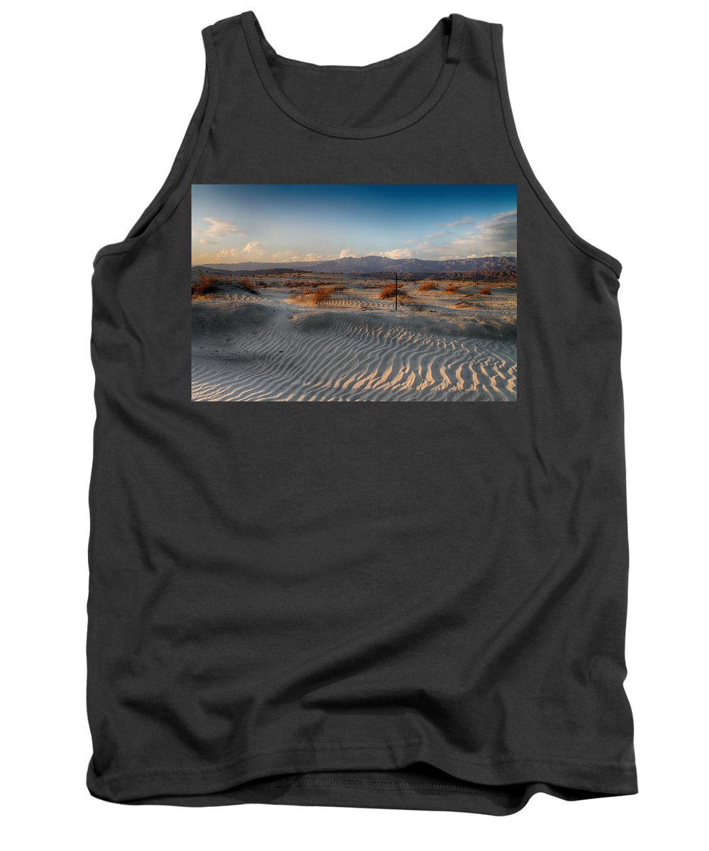 Palm Desert Tank Top featuring the photograph Unspoken by Laurie Search