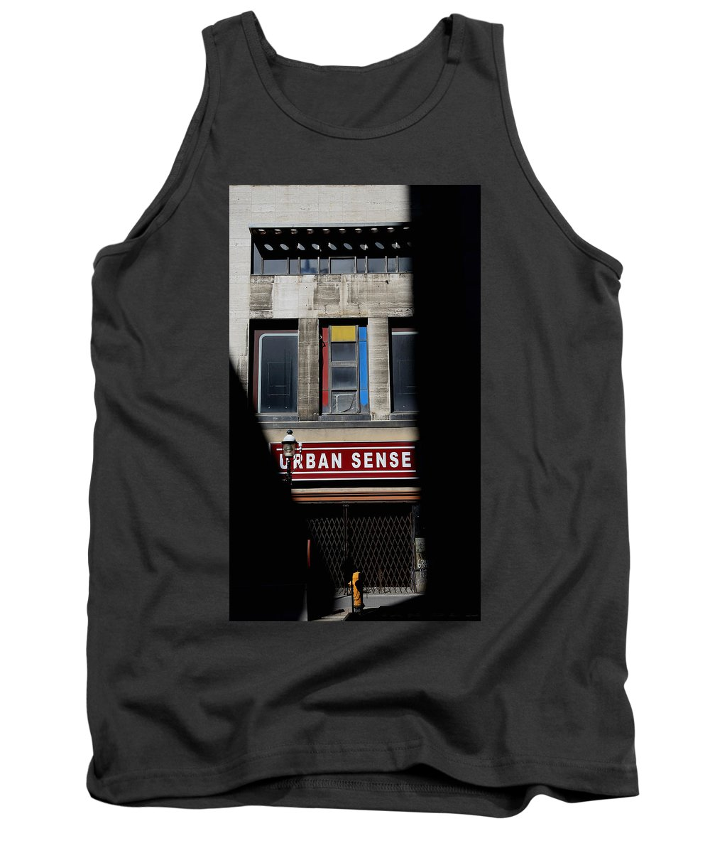 Toronto Tank Top featuring the photograph Urban Sense 1 by Andrew Fare
