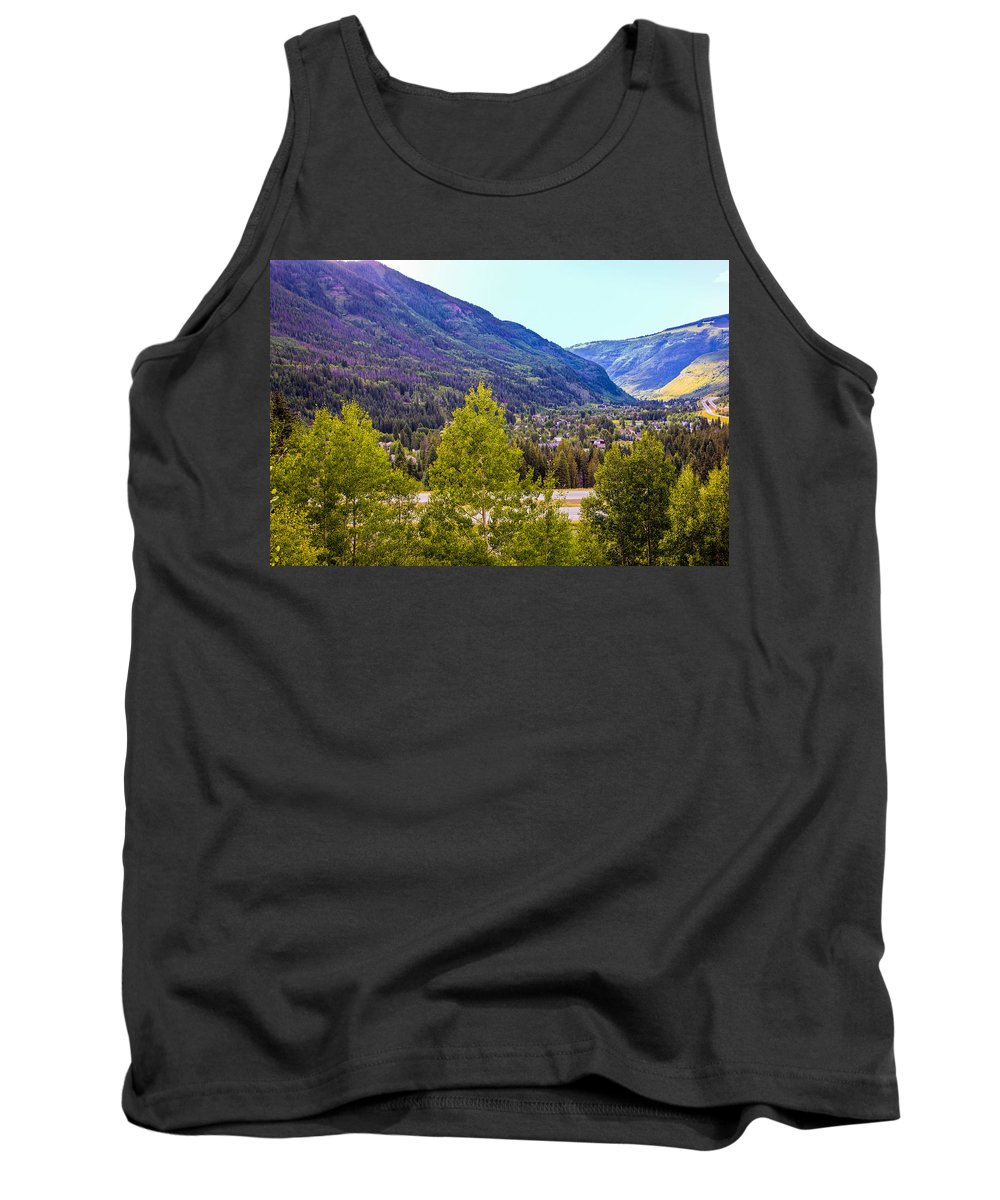 Vail Colorado Tank Top featuring the photograph Vail Vista 1 by Madeline Ellis
