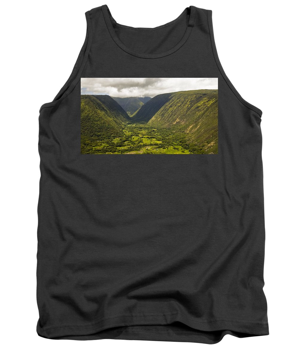Vally Tank Top featuring the photograph Vally View by Eric Swan