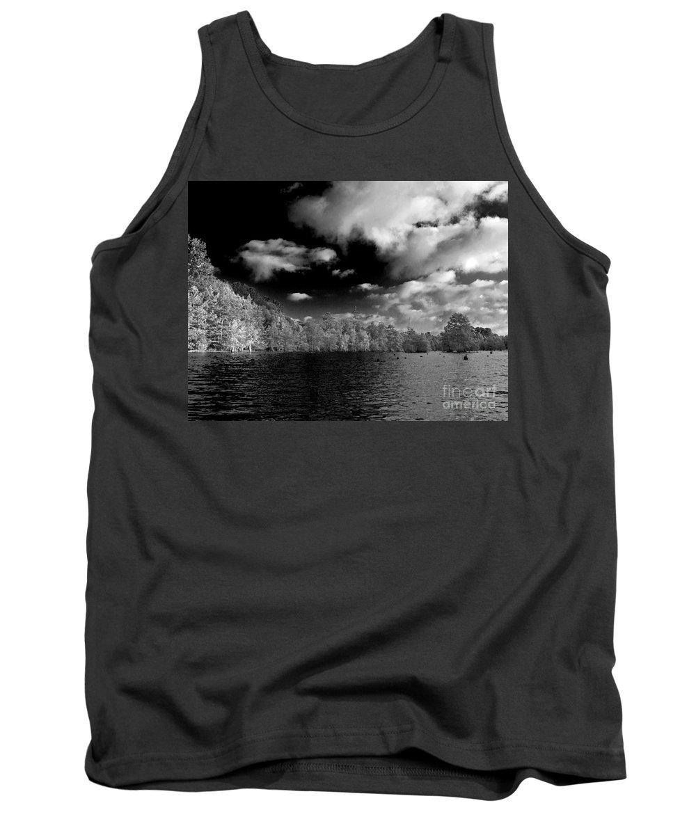Vernon Lake Tank Top featuring the photograph Vernon Lake Two by Ken Frischkorn