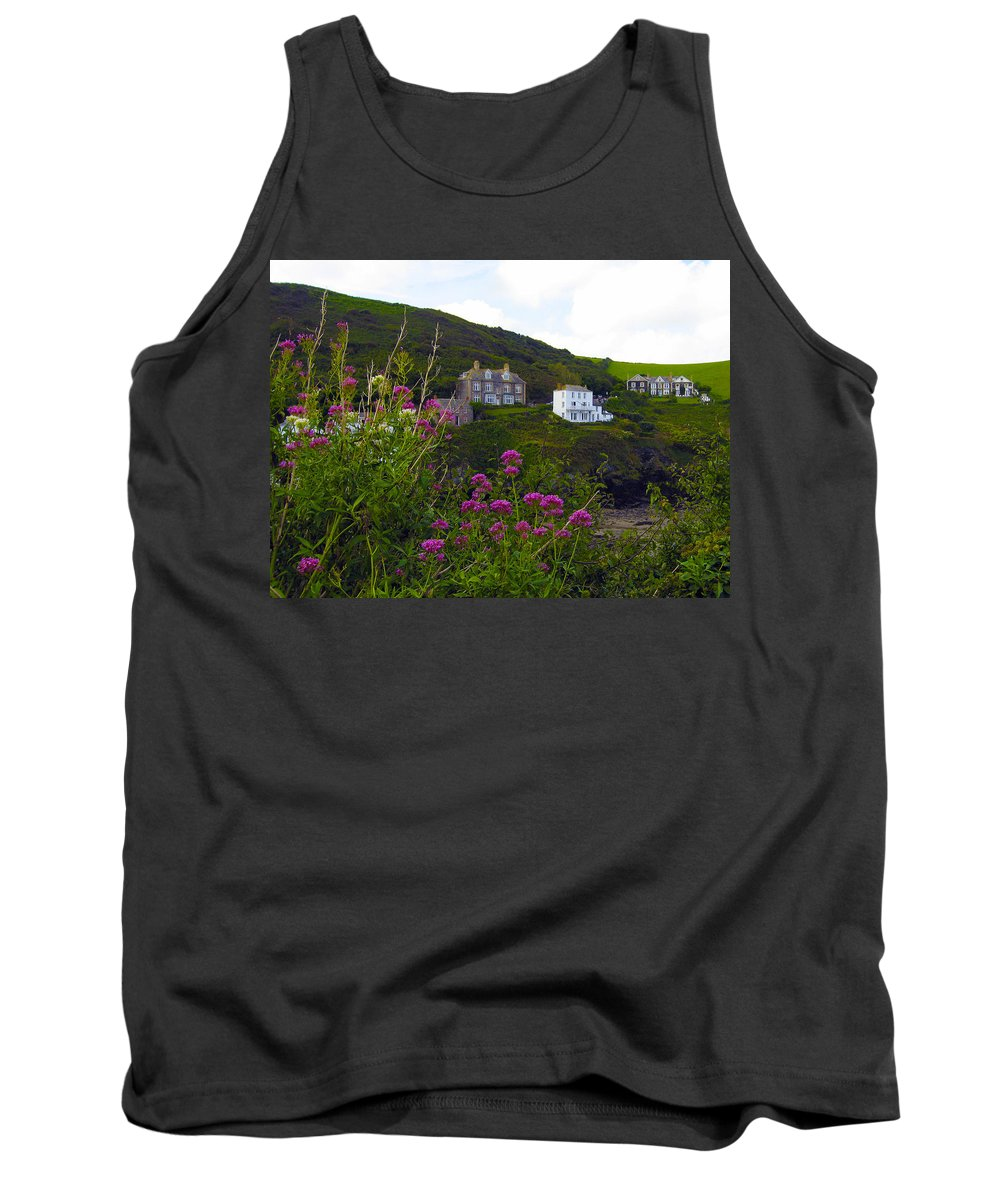 Port Isaac Tank Top featuring the photograph View From Port Isaac by Kurt Van Wagner