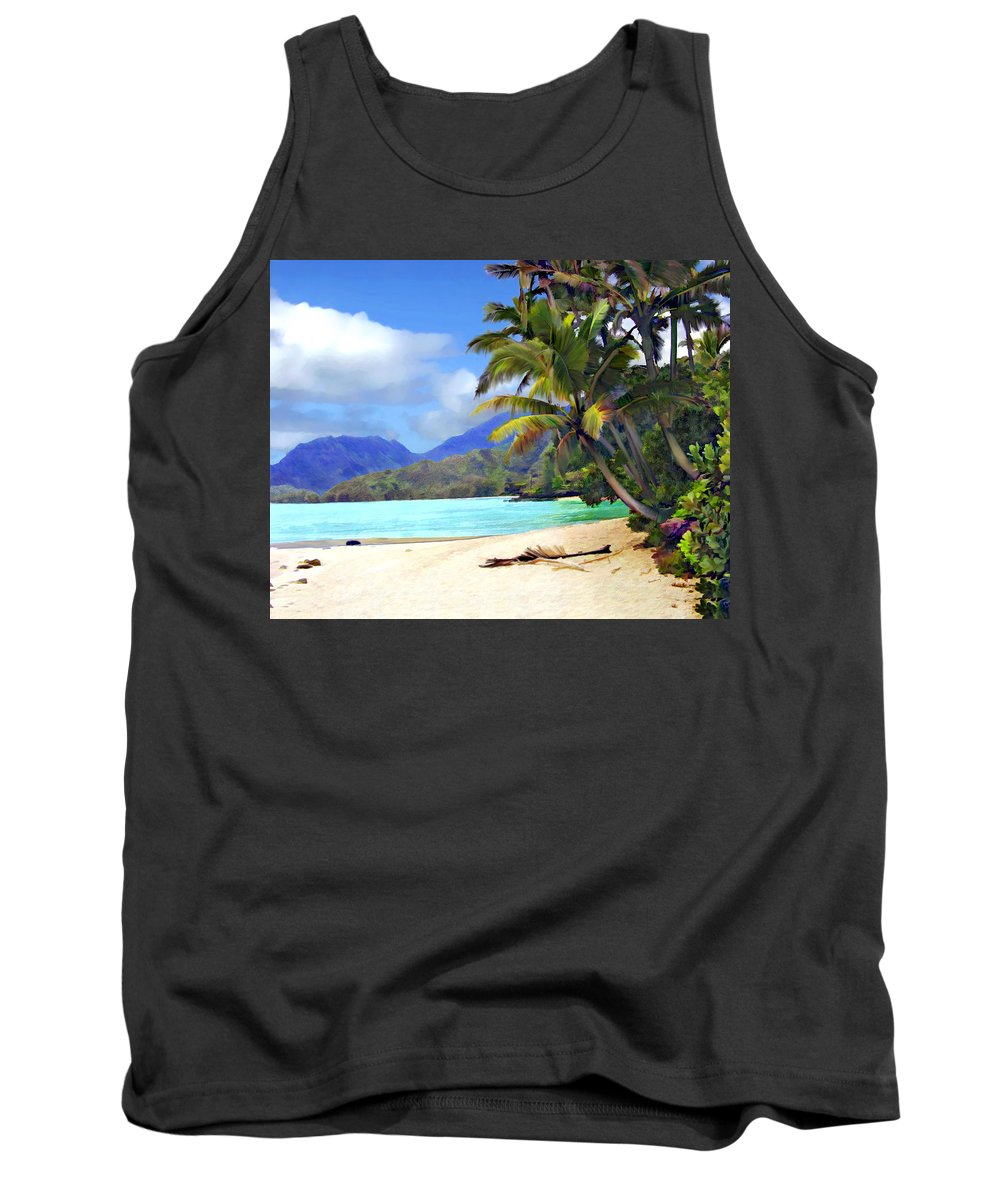 Hawaii Tank Top featuring the photograph View From Waicocos by Kurt Van Wagner