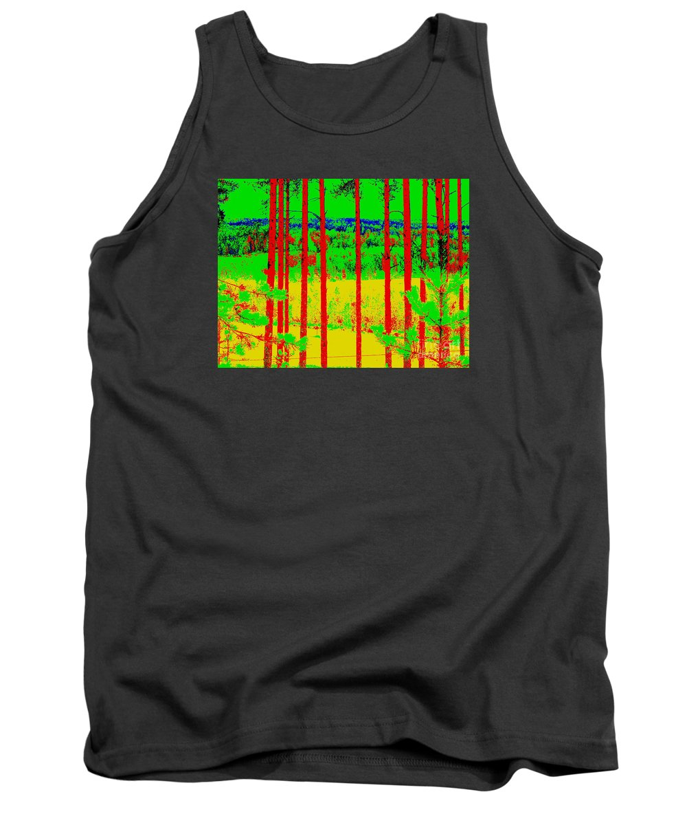 Landscape Tank Top featuring the photograph View by Pauli Hyvonen