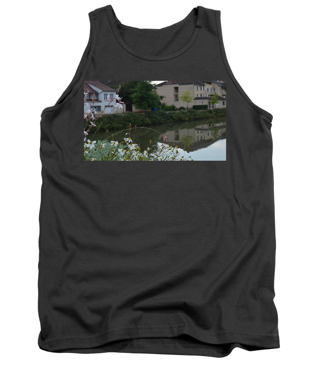 France Tank Top featuring the photograph Village Life by Cheryl Miller