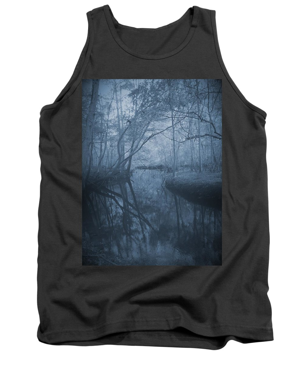 Phil Tank Top featuring the photograph Waccasassa River by Phil Penne