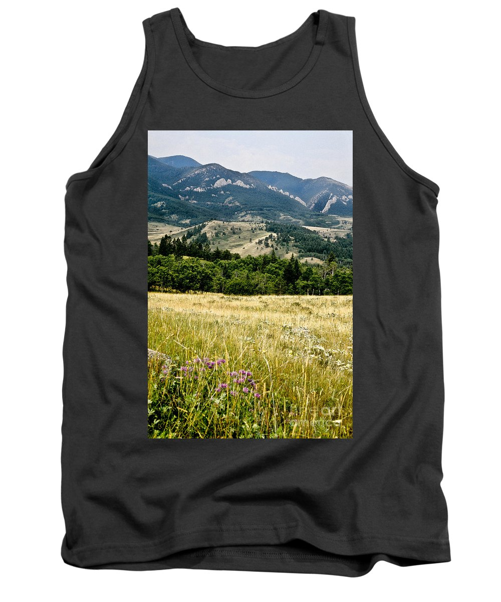 Wilderness Tank Top featuring the photograph Washake Wilderness by Kathy McClure