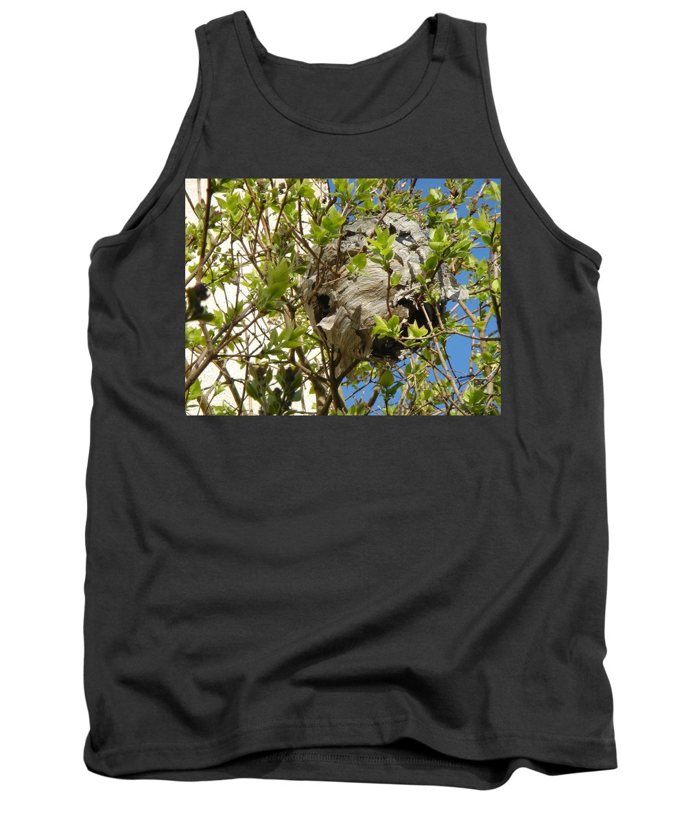 Europe Tank Top featuring the photograph Wasps' Nest by Rod Johnson