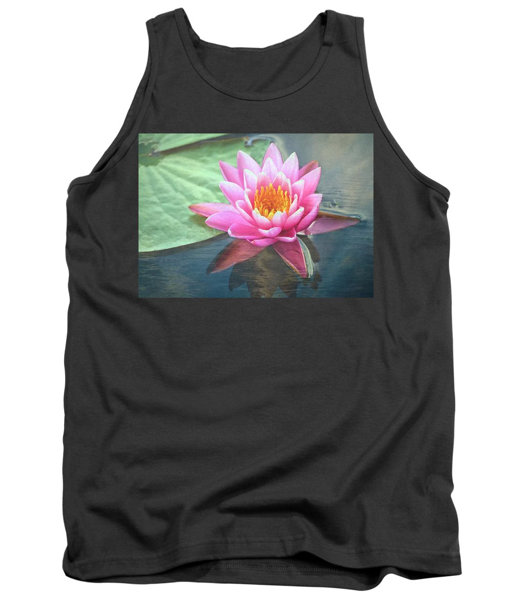 Water Lily Tank Top featuring the photograph Water Lily by Sandi OReilly