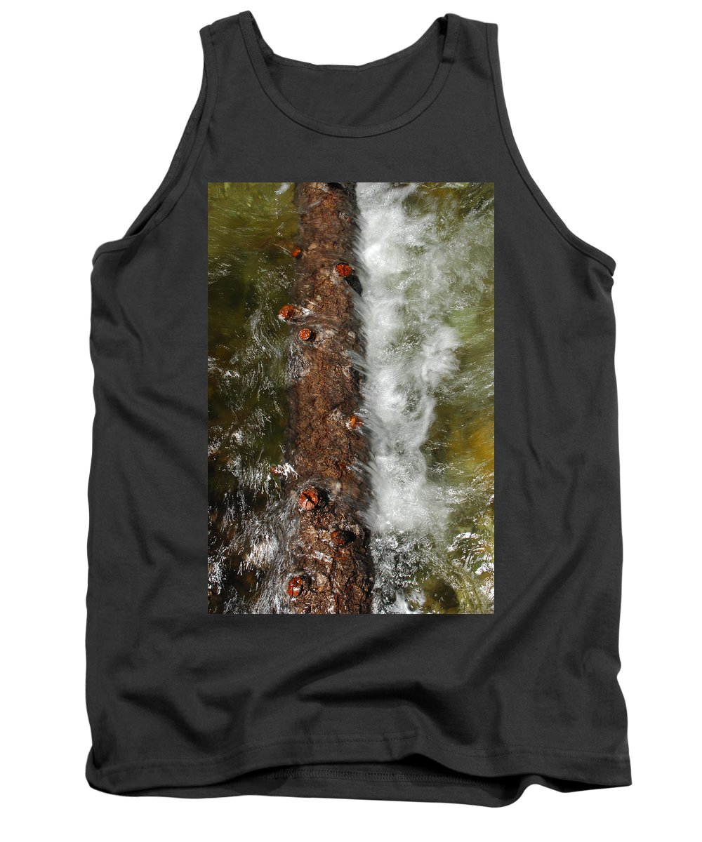 Water Tank Top featuring the photograph Water Logged by Donna Blackhall