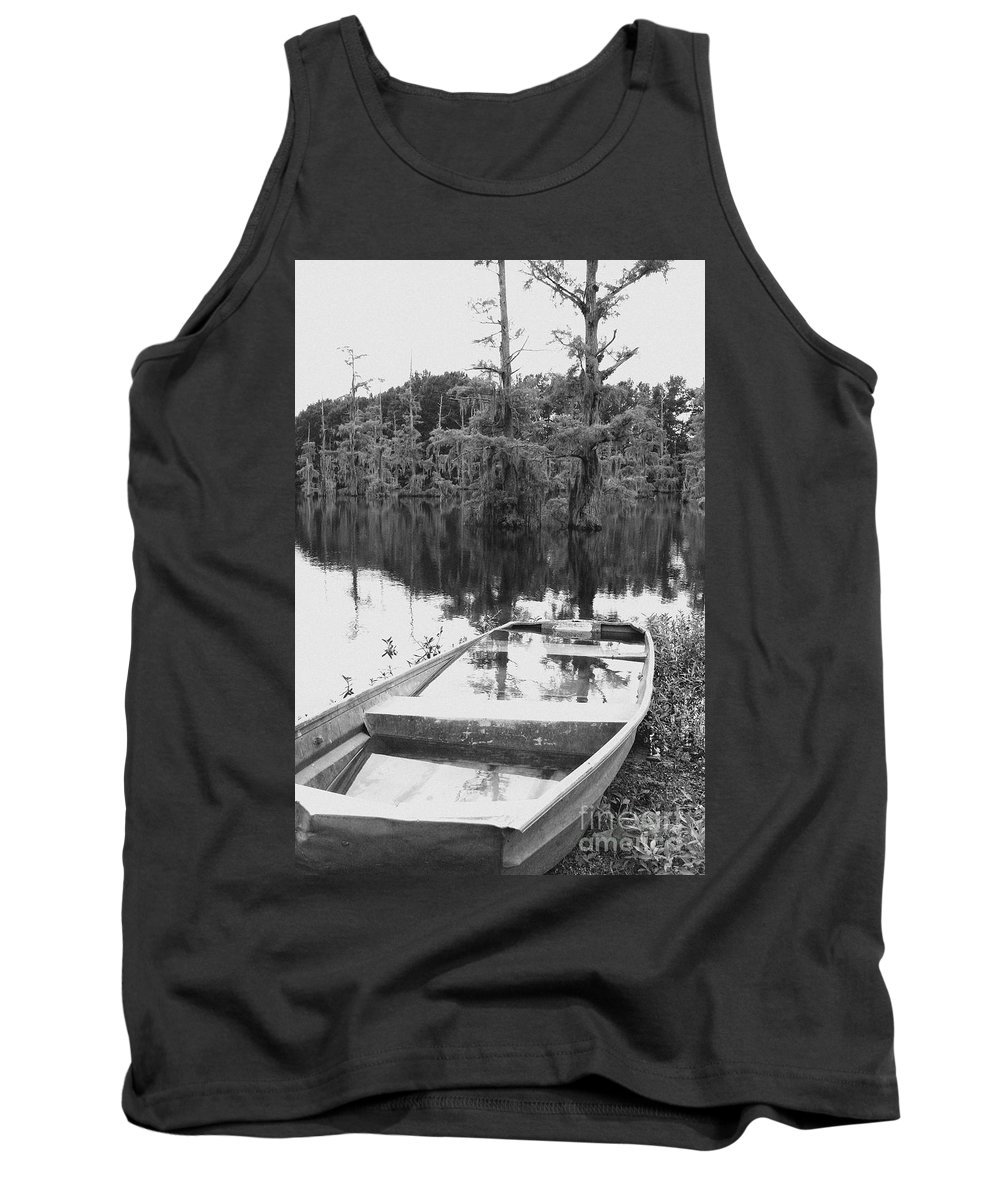 Boat Tank Top featuring the photograph Waterlogged by Scott Pellegrin