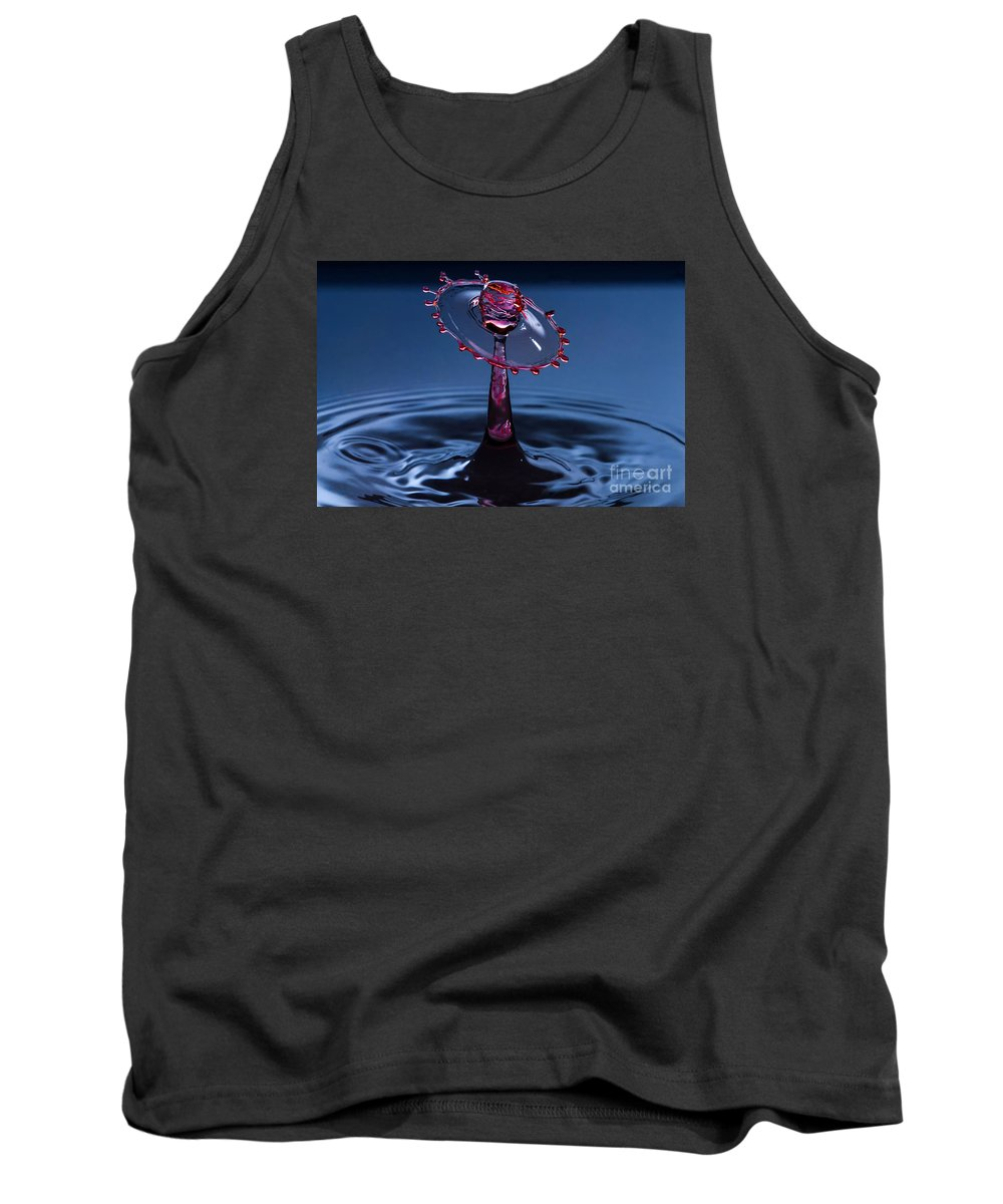 Water Tank Top featuring the photograph Wheel Of Confusion by Anthony Sacco