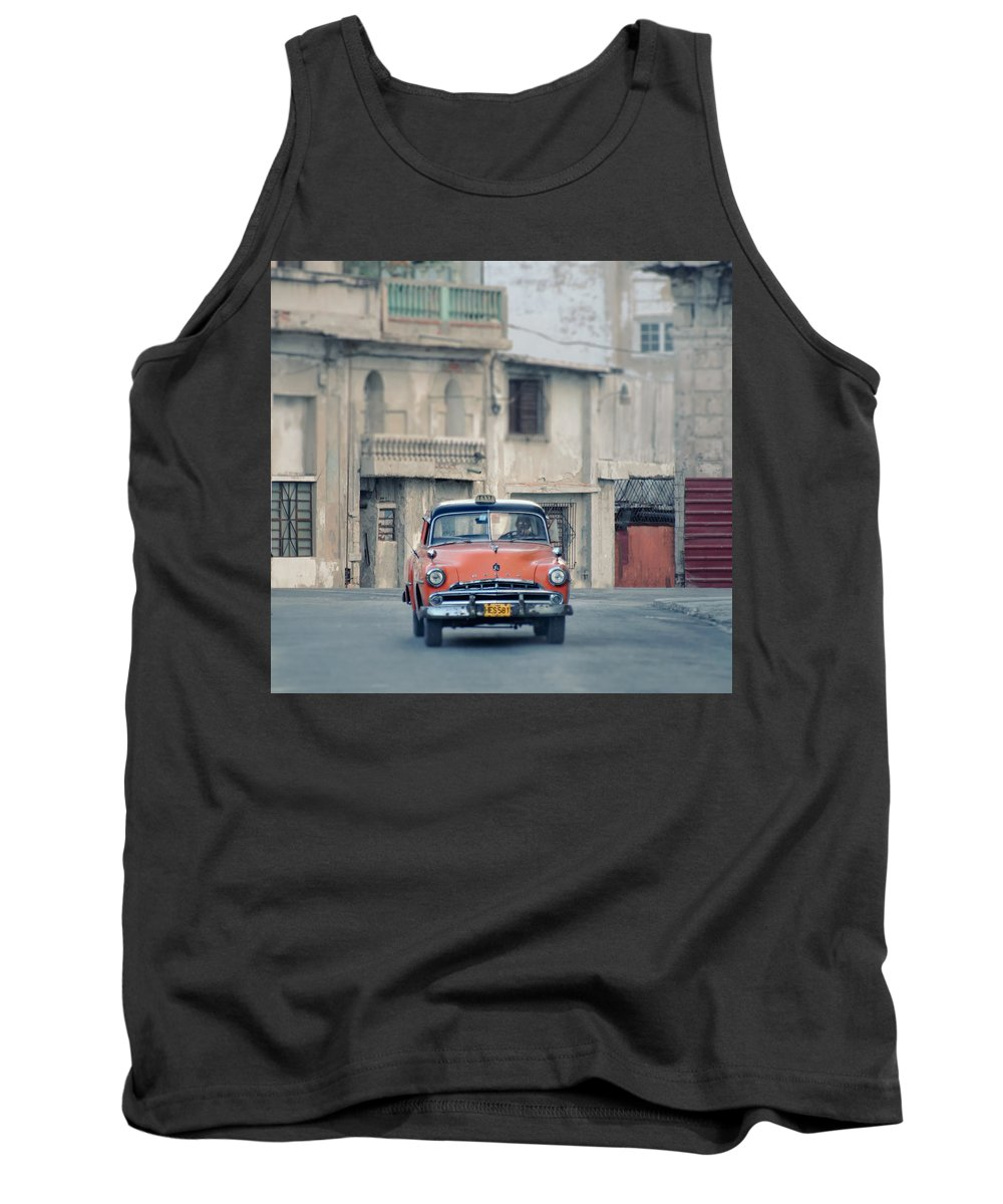 1950s Tank Top featuring the photograph Where The Streets Do Have Names.. by A Rey