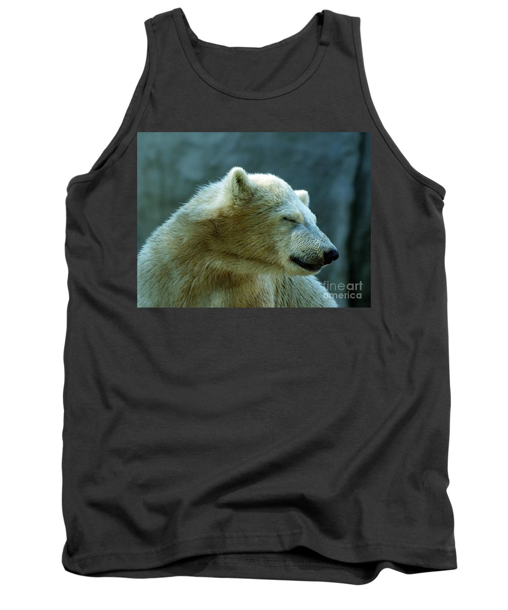 Animal Tank Top featuring the photograph White Dreams by Brothers Beerens