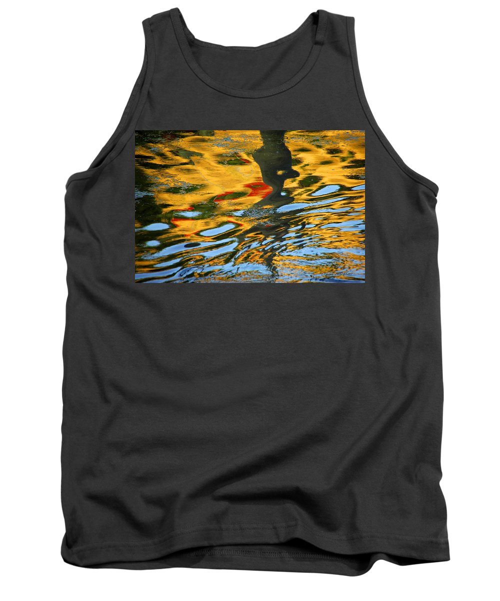 Water Tank Top featuring the photograph Wicked by Donna Blackhall