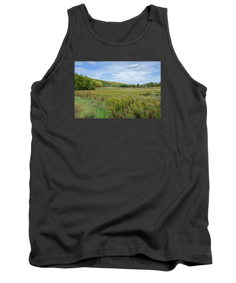 Wide Open Spaces Tank Top featuring the photograph Wide Open Spaces by Susan McMenamin