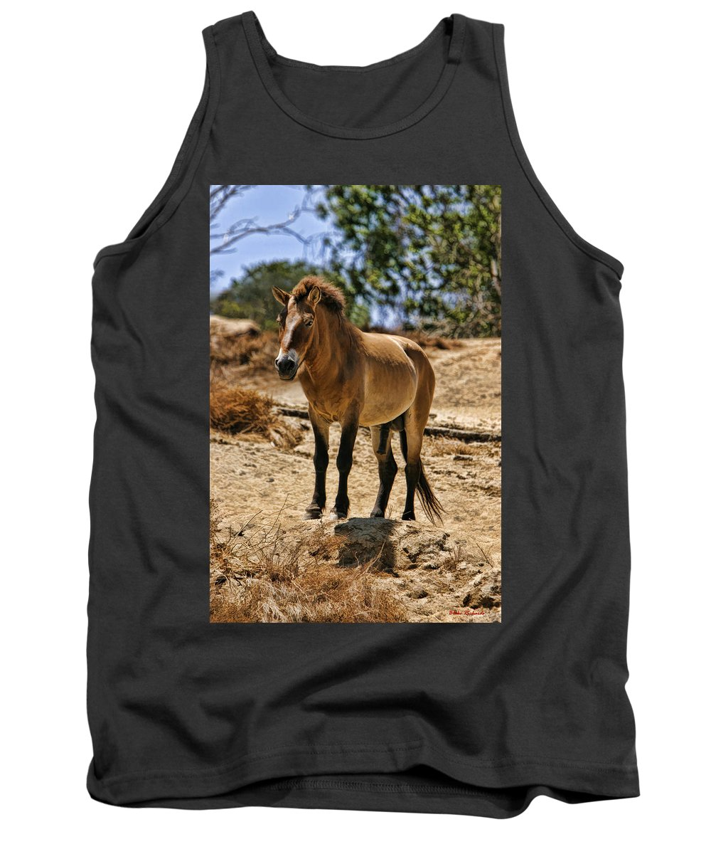 Art Photography Tank Top featuring the photograph Wild Horse by Blake Richards