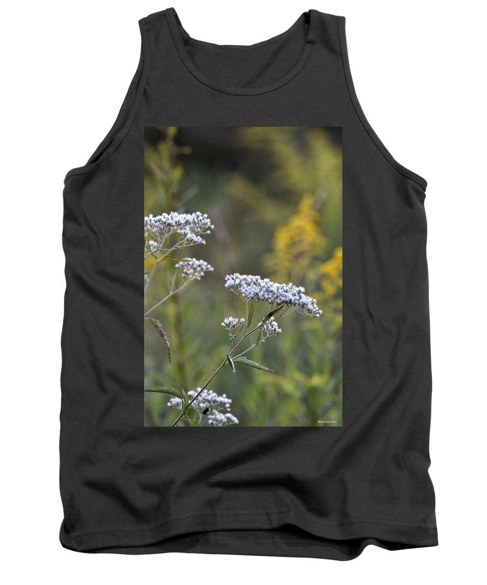 Wildflowers In September 2012 Tank Top featuring the photograph Wildflowers In September 2012 by Maria Urso