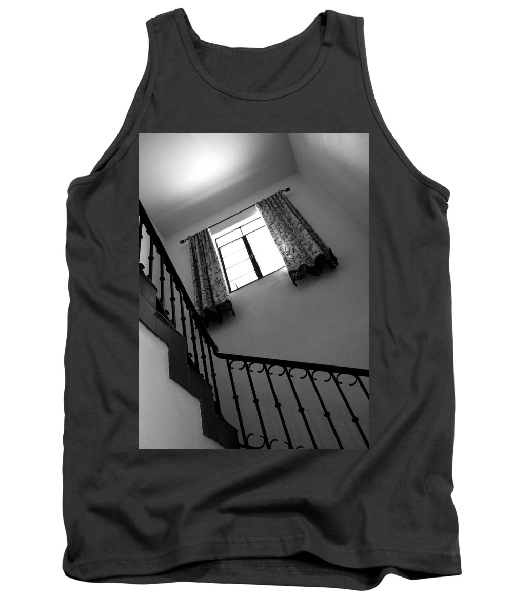 Stairs Tank Top featuring the photograph Window And Stairs by Joe Kozlowski