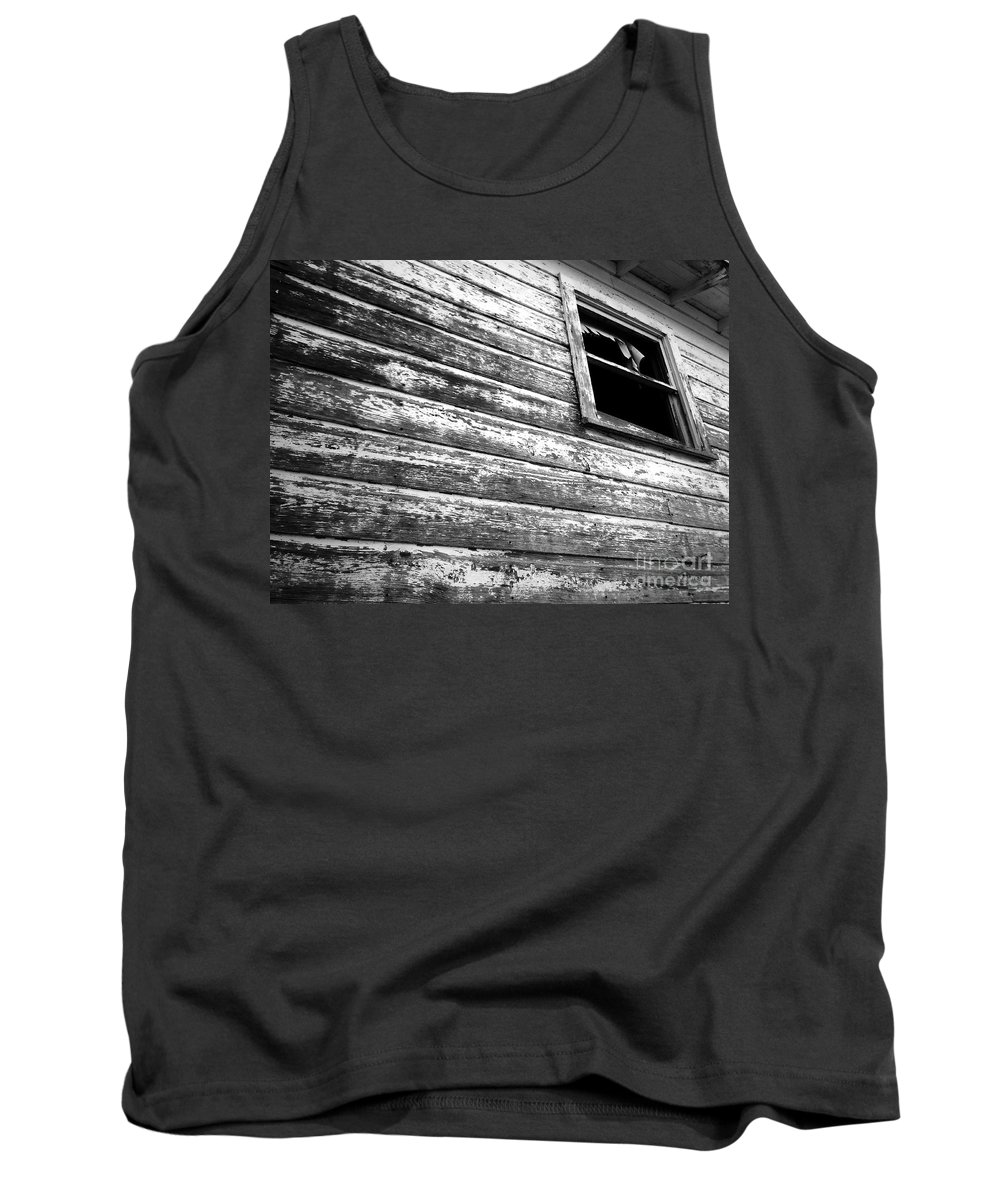 Abandoned Tank Top featuring the photograph Window To Another Era by Robert ONeil
