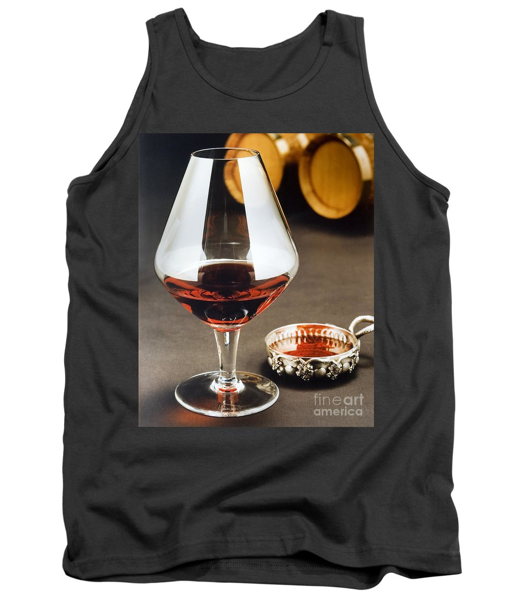 Wine Tank Top featuring the photograph Wine Tasting by Jerry McElroy