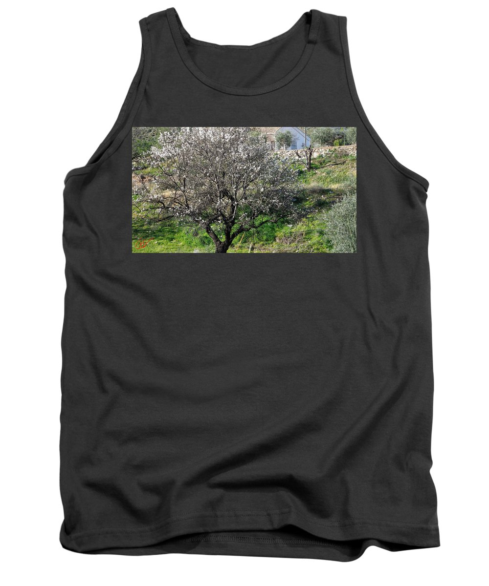 Colette Tank Top featuring the photograph Winter Spanish Nature Almeria Region by Colette V Hera Guggenheim