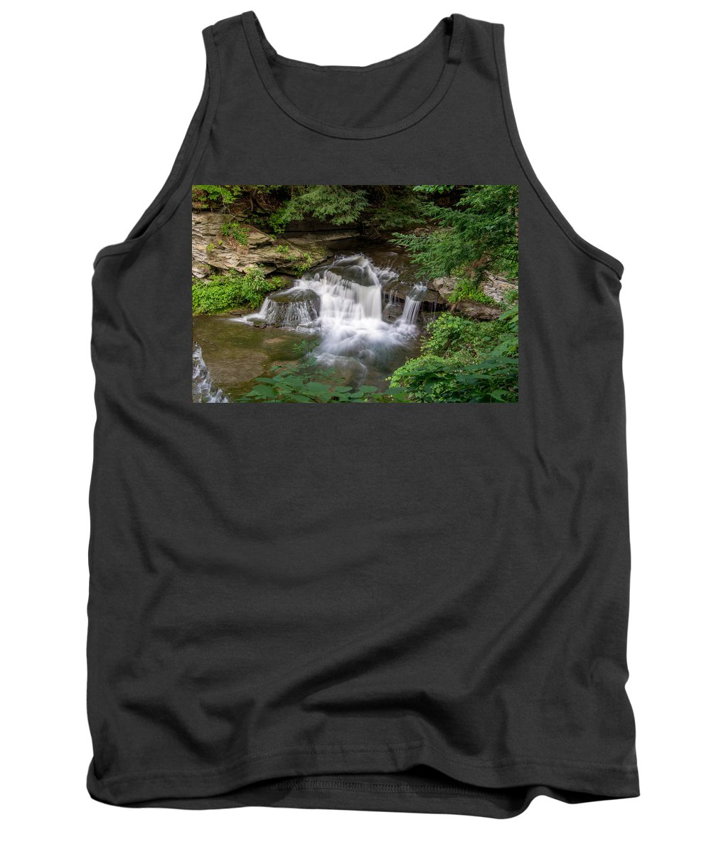Forest Tank Top featuring the photograph Wolf Creek 7k01600 by Guy Whiteley