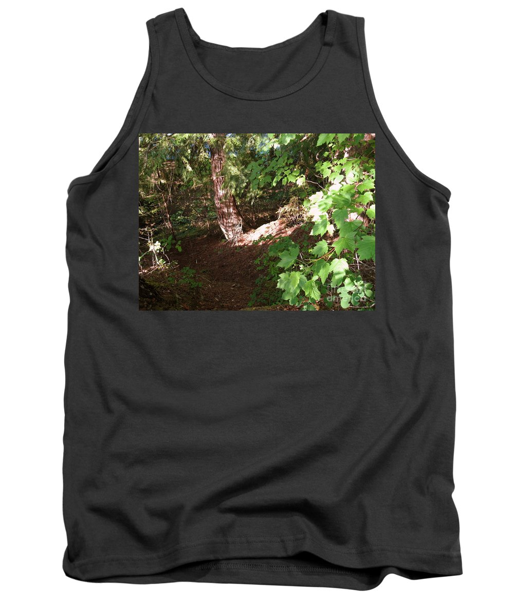 Woodlands Tank Top featuring the photograph Woodlands by Leone Lund