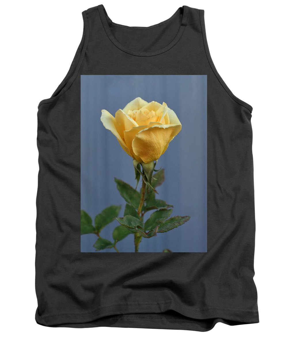 Yellow Rose Tank Top featuring the photograph Yellow Rose Greeting Card by Ernie Echols