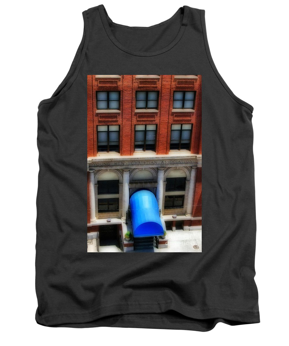 Scenic Tours Tank Top featuring the photograph Ymca by Skip Willits
