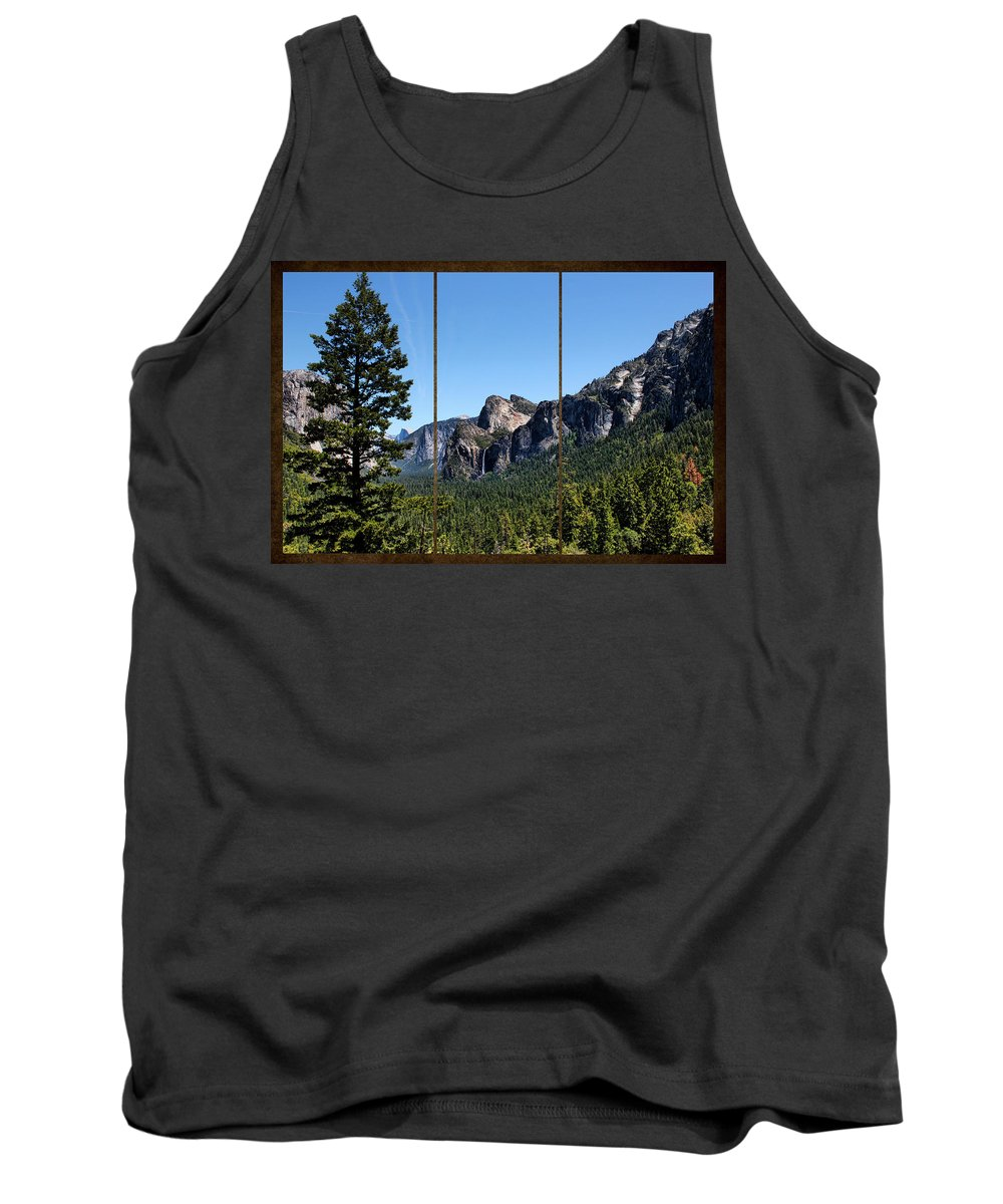 Art Tank Top featuring the photograph Yosemite Triptych by Judy Vincent