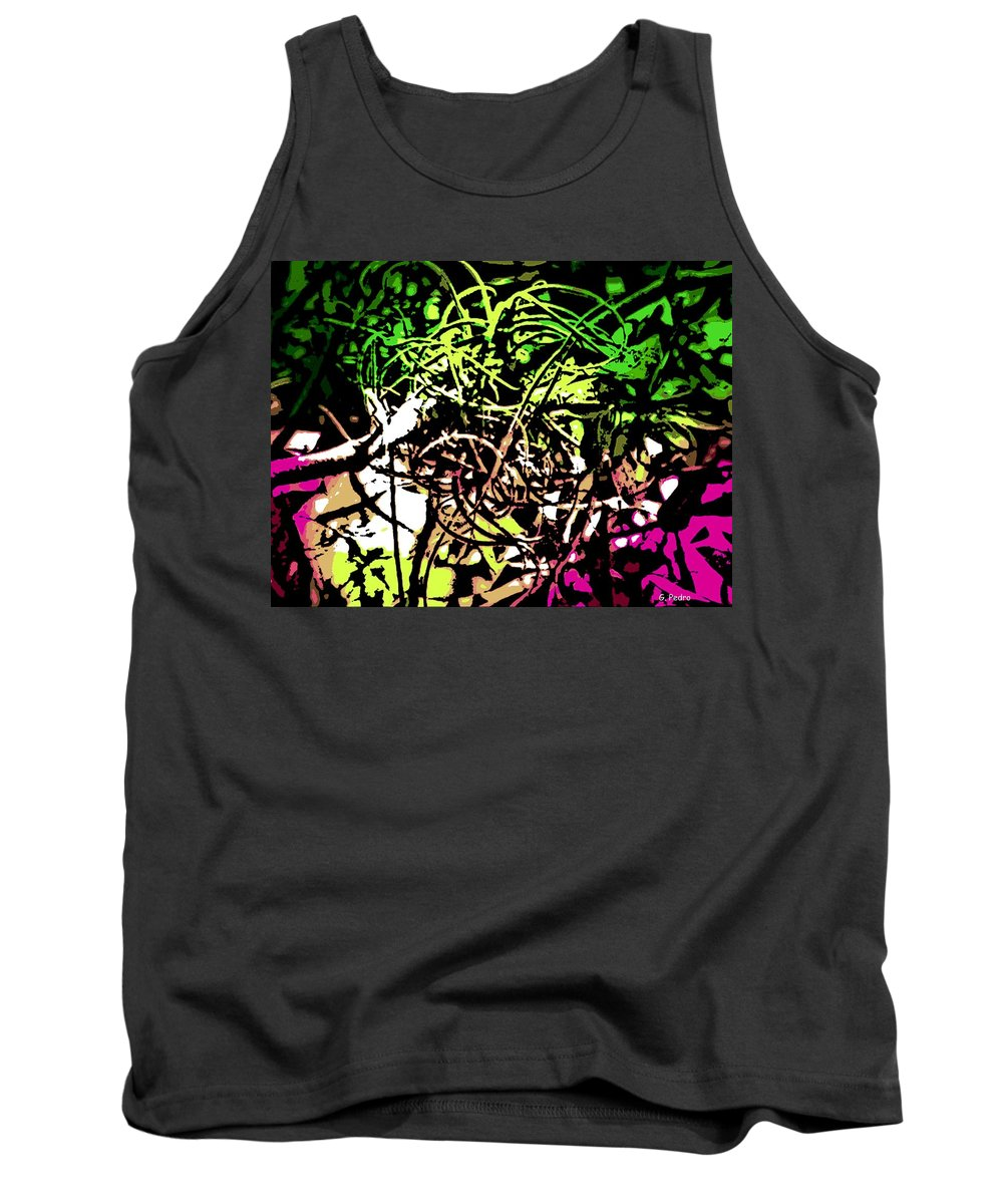 Air Tank Top featuring the photograph Air Plant by George Pedro