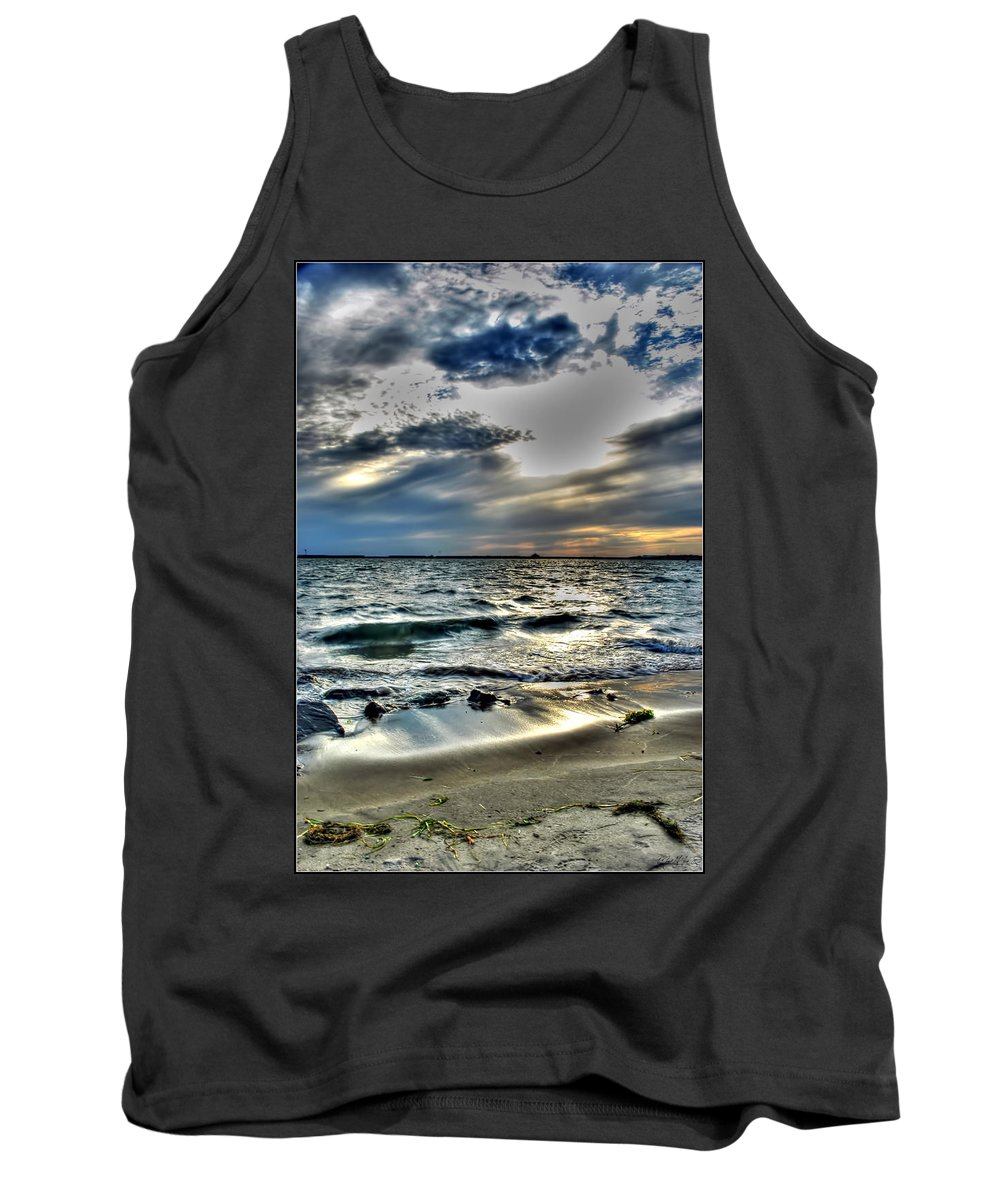 Tank Top featuring the photograph 002 In Harmony With Nature Series by Michael Frank Jr