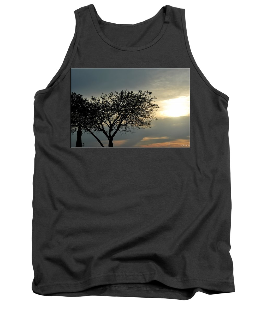 Tank Top featuring the photograph 004 When Feeling Down Pick Your Head Up To The Skies Series by Michael Frank Jr