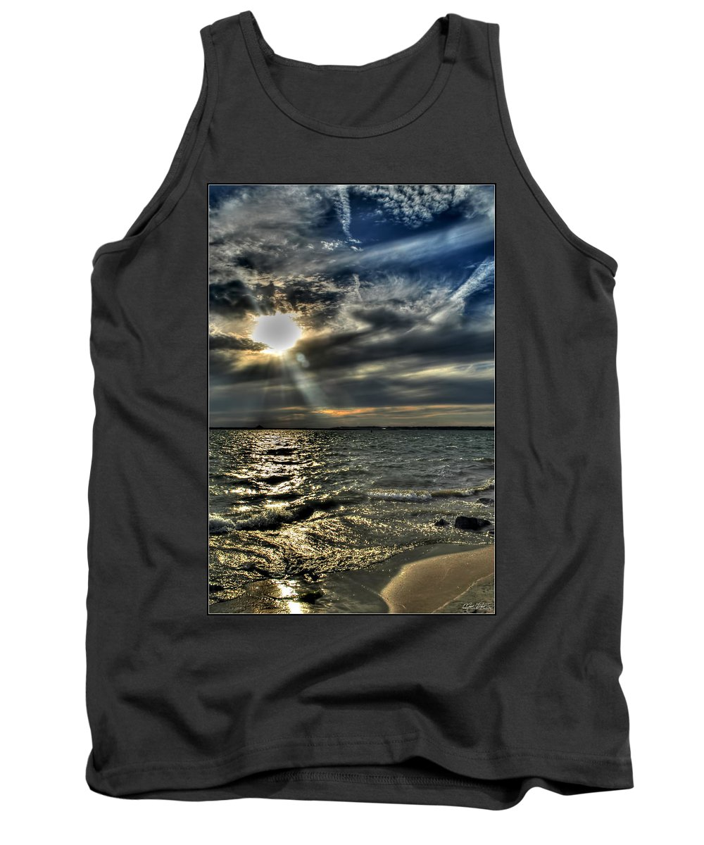 Tank Top featuring the photograph 005 In Harmony With Nature Series by Michael Frank Jr