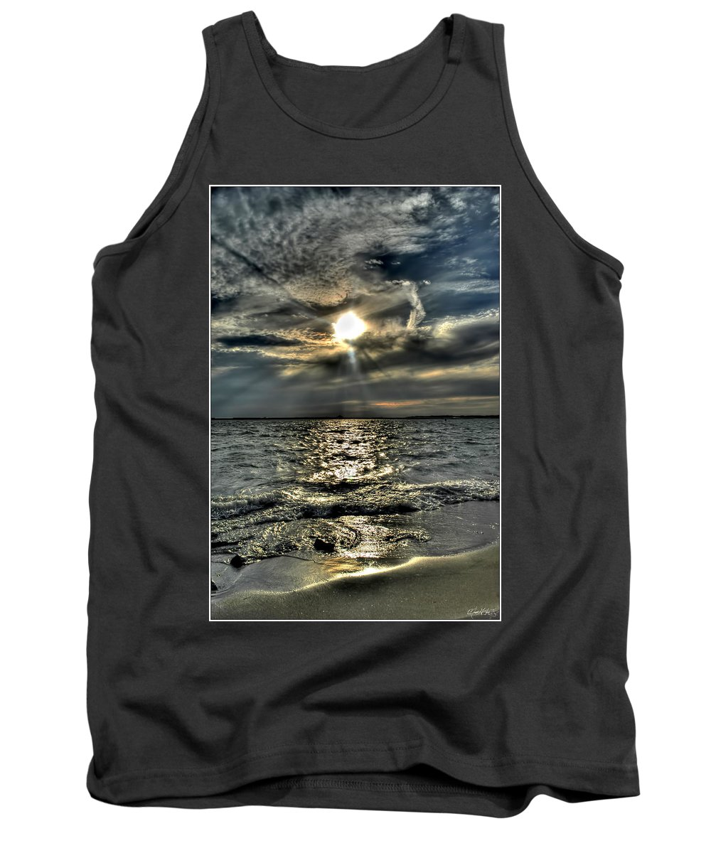 Tank Top featuring the photograph 007 In Harmony With Nature Series by Michael Frank Jr