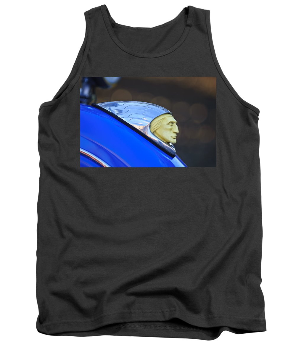 1948 Indian Chief Motorcycle Tank Top featuring the photograph 1948 Indian Chief Motorcycle by Jill Reger