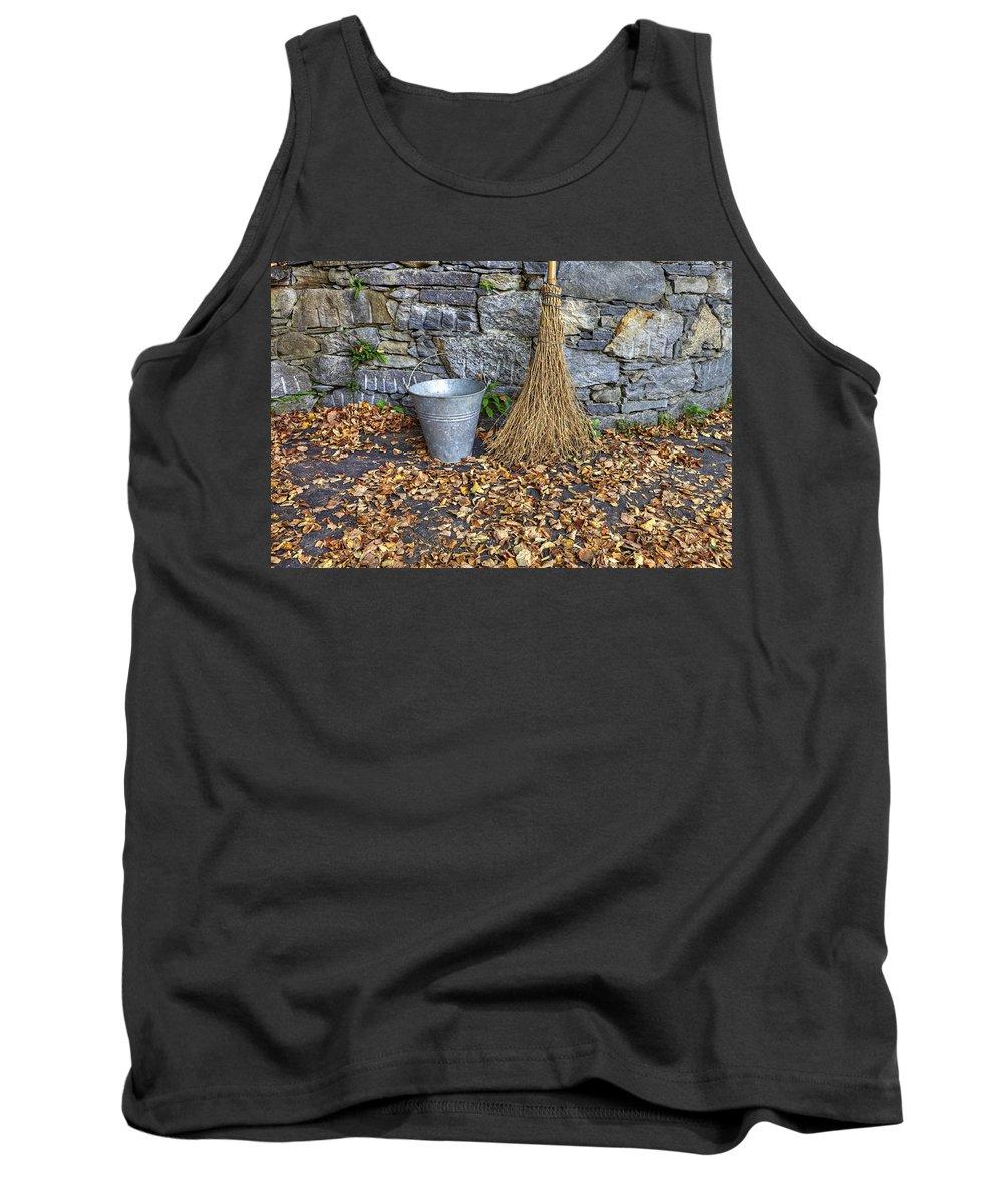Garden Tank Top featuring the photograph Autumn In The Garden by Joana Kruse